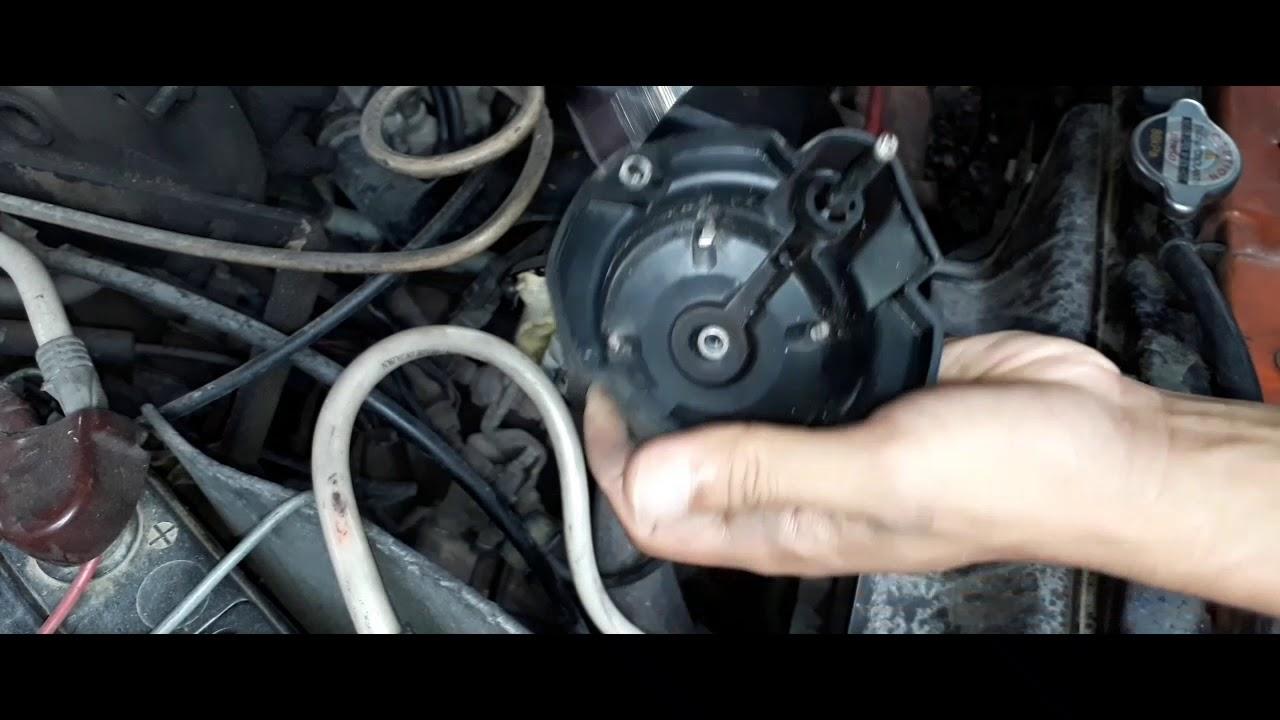 4g15 Engine Distributor Cap Service Youtube