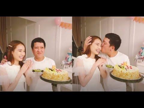 Trường Giang tổ chức sinh nhật lãng mạn cho bà xã Nhã Phương