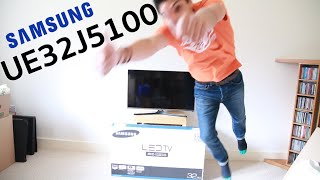 Samsung UE32J5100 Unboxing and Review