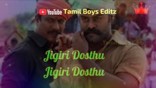 Namma Veettu Pillai   Jigiri dosthu whats app status  Koburathil Thookki Vaikkum  Sontham Ithuthaana