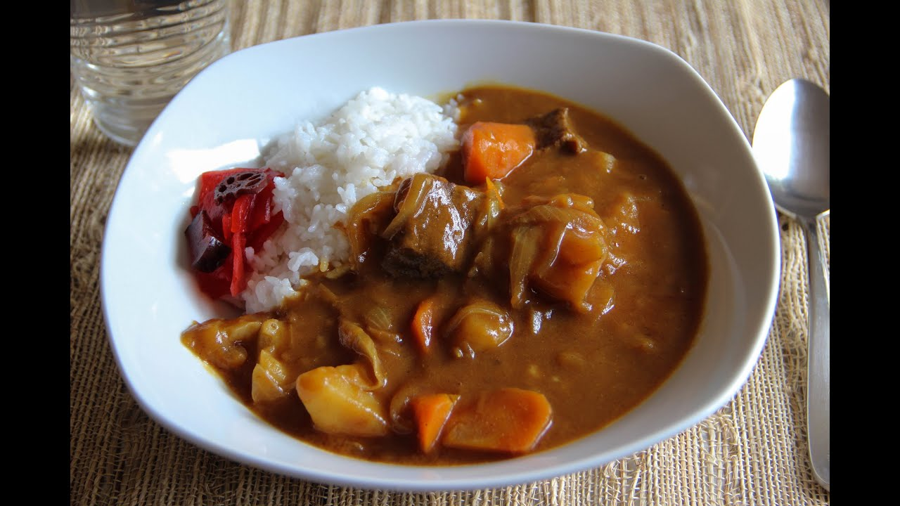 Curry And Rice Recipe Japanese Cooking 101 Youtube