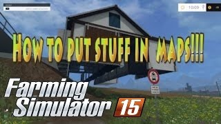 Farming Simulator 2015 How To Add Buildings To The Giantseditor