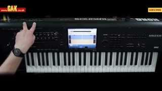 Korg Kronos Music Workstation Demo - PART 3