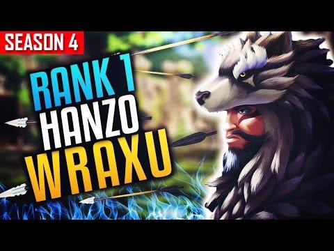 World Rank 1 Hanzo  WRAXU vs Taimou  - Incredible Skills [S4 TOP 100]