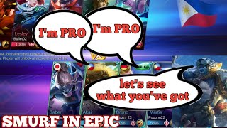 when NUB think their pro | top 1 GLOBAL balmond play in epic rank