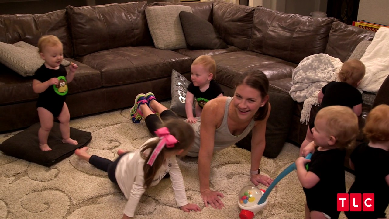 Quint Mom Danielle Busby's Got Some Workout Tips For You!