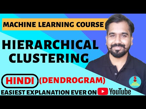 Hierarchical Clustering : Agglomerative Clustering And Divisive Clustering Explained In Hindi