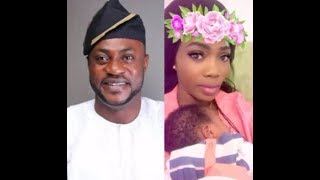 See what odunlade adekola's alleged second g/friend,bukky adeeyo said about him & her new born baby