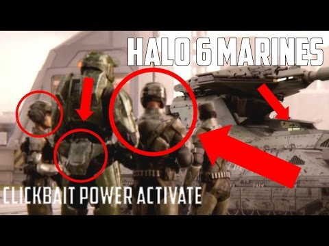 Idea for Marines in Halo 6
