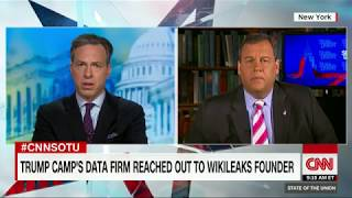 Chris Christie  Russia indictment leak could be criminal (Full CNN interview)