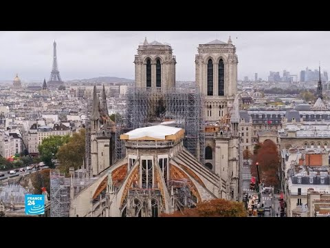 حريق كاتدرائية نوتردام الباريسية: الترميم جار لكن الصرح العريق لم يضمد جراحه بعد