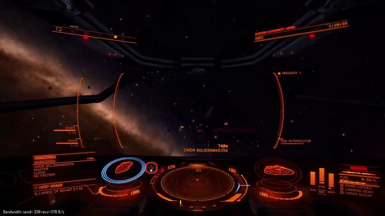 PvP Type 10 Defender vs Fer de Lance (Elite Dangerous 3 0)
