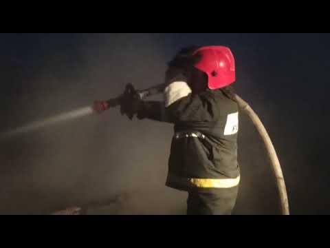 Пожар на ул. Мичурина в г. Екатеринбурге