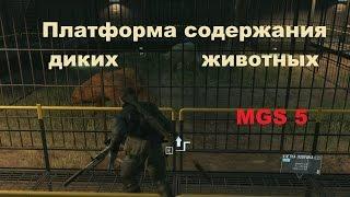 Платформа содержания диких животных в Metal Gear Solid 5 the phantom pain
