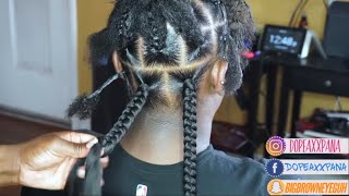 Jumbo Box Braids| Regular Speed