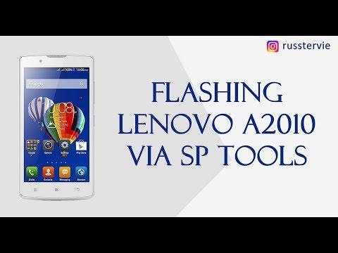 Flashing Lenovo A2010 Via SP Flash Tool