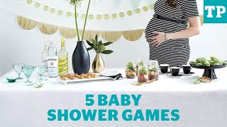 5 baby shower games you'll actually want to play