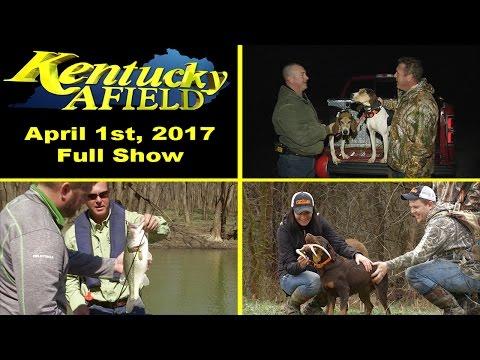 April 1, 2017 Full Episode - Raccoon Hunt, Salt River Fishing, Shed Hunting