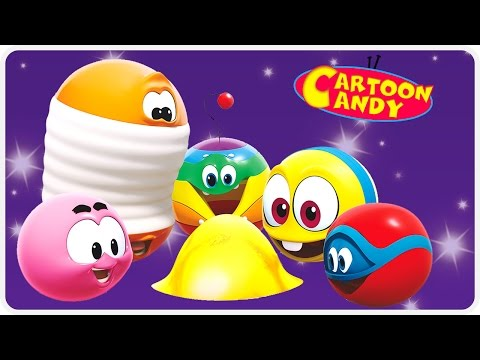 WonderBalls - Starry Night | Funny Cartoons For Children | Cartoon Candy
