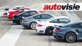 Turbofest: 6 generaties Porsche 911 Turbo - by Autovisie TV