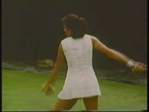 Margaret Court vs Virginia Wade 1969 U.S. Open, Forest Hills NY
