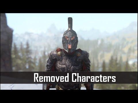 Skyrim: 5 Interesting Characters That Bethesda Removed - The Elder Scrolls 5 Secrets