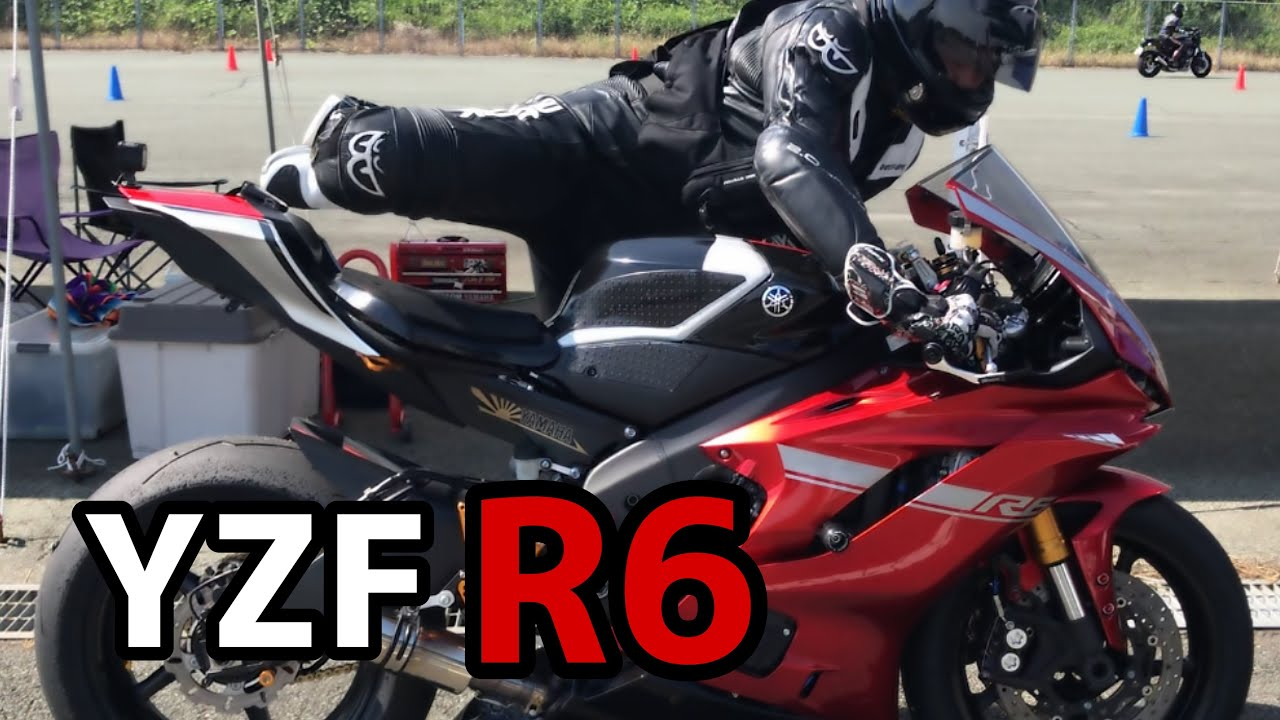 YZF‐R6 red【BN6】It's fun no matter how many times you run!  The sound of the motorcycle is also great