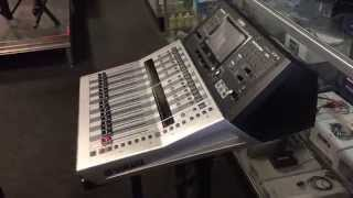 brand new yamaha tf1 digital mixer unboxing and demo at hb pro sound