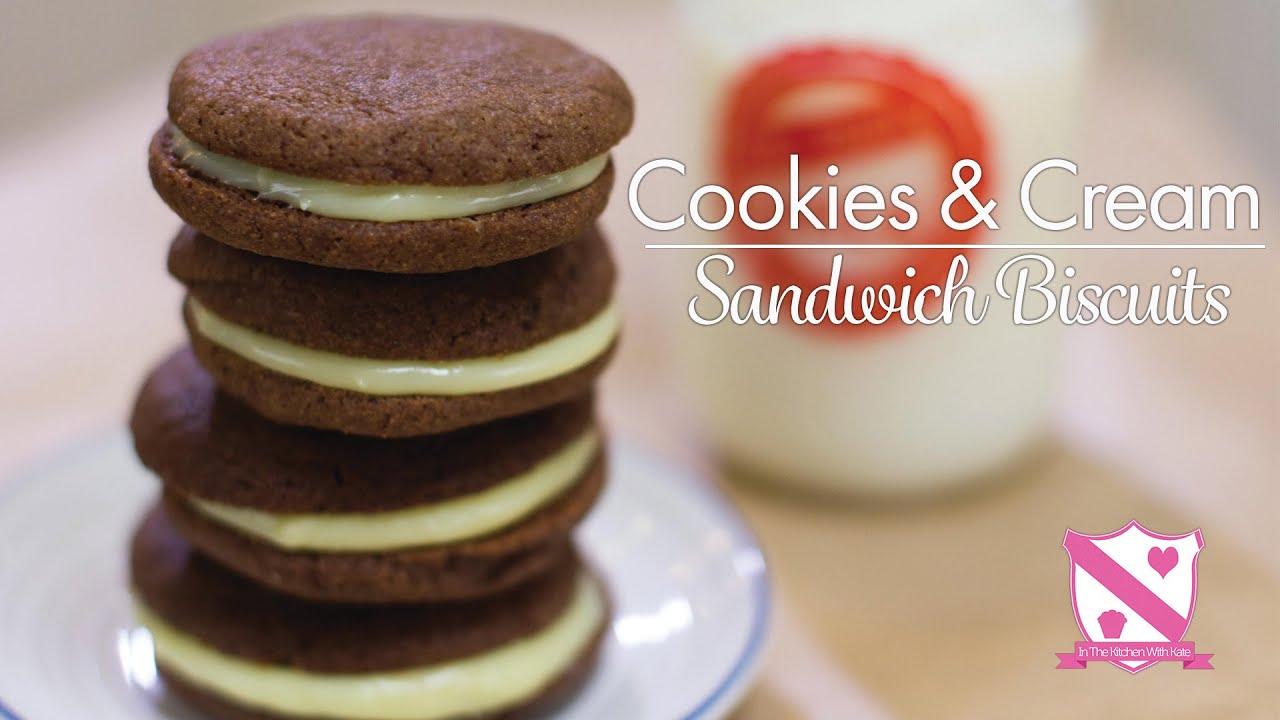 Biscuit Sandwich Cookies Recipe — Dishmaps