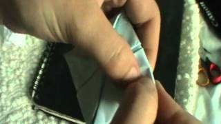 Sherlock- How to make the origami lotus from The Blind Banker
