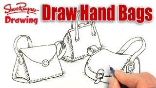 How to draw handbags!