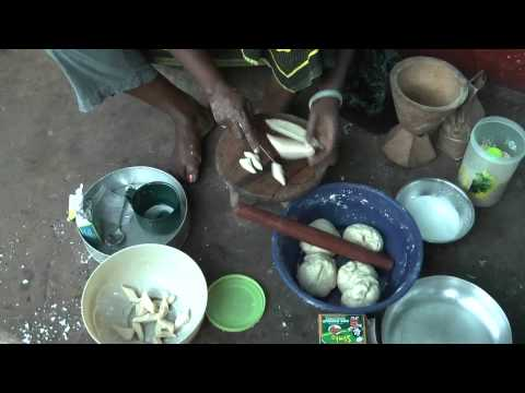 African Cooking - Tanzanian woman prepares traditional meals