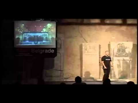 TEDxBelgrade - Rasa Karapandza - Obecanja, lice Boga i igra zmurke