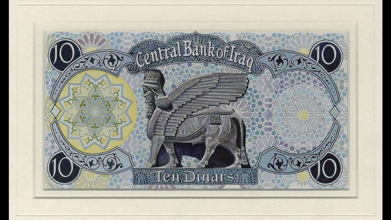 10 Iraq Dinar Note Iqd