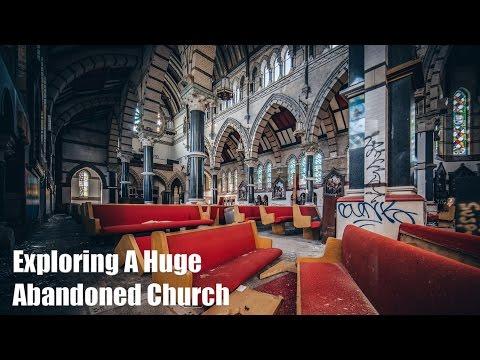 Exploring A Huge Abandoned Church In Philadelphia