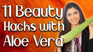 11 Beauty Hacks with Aloe Vera - Ghazal Siddique