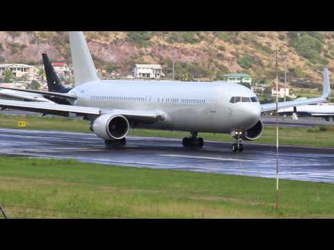 Busy Afternoon !!!! 767,737,MD-80,Saab 340,Short 360 @ St Kitts (HD 1080p)