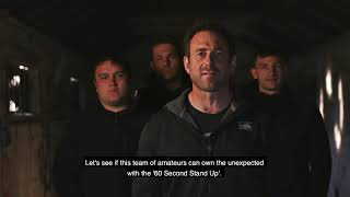 Rugby Sixty Second Stand Up Challenge   Featuring Jason Fox and England Rugby
