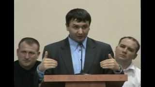 Игорь Азанов: Не нарушай ограду Божью