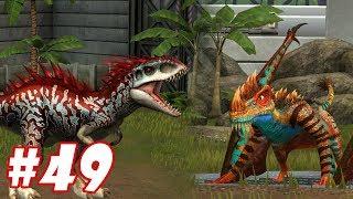 Khi Indominus Rex lép vế so với quái vật thời tiền sử này - Jurassic World The Game #49