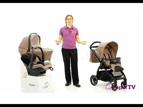 Коляска 3 в 1 Peg-Perego Book Plus (Пег-Перего Бук Плюс)