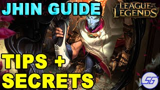 Jhin ADC Guide + Build + Tips   League of Legends Season 6