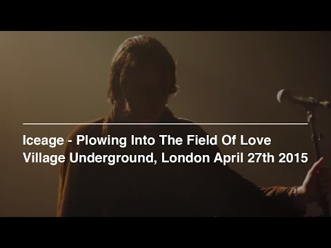 Iceage - Plowing Into The Field Of Love (Album Audio Overlaid On Live Footage)