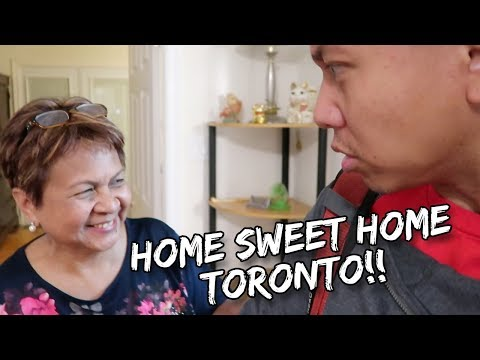 COMING HOME TO MY FAMILY IN CANADA | Vlog #140