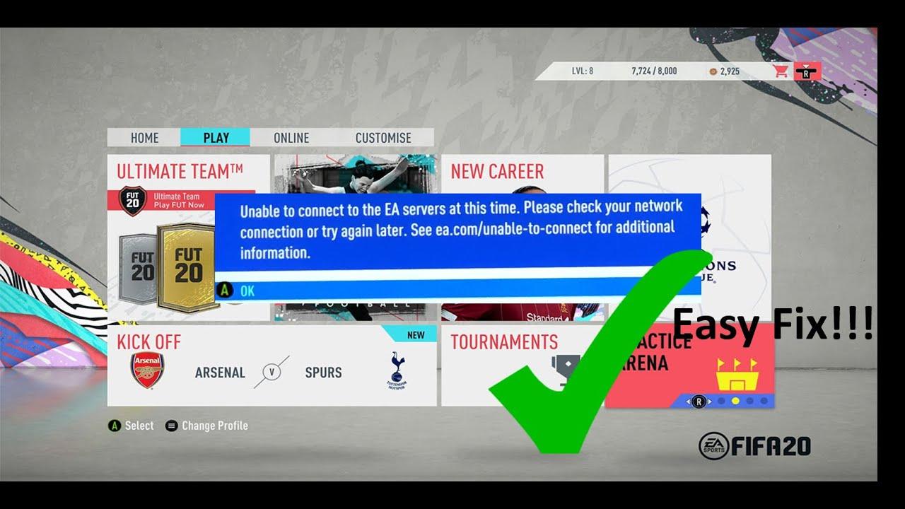 Fifa Ea Server