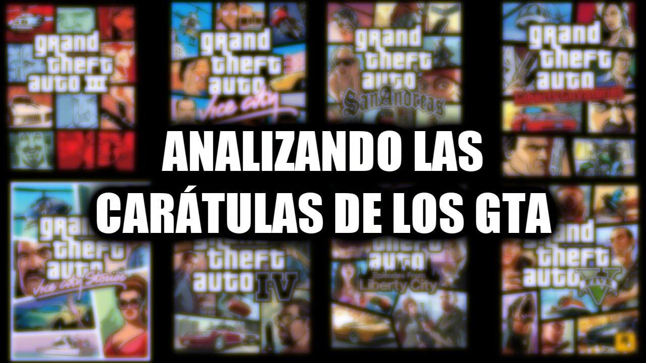 Analizando las carátulas de los GTA