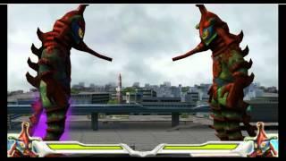 ultraman fighting evolution 0 all special attacks hd