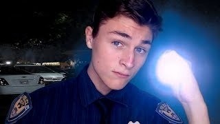 ASMR | Police Officer Pulls You Over At Night (Roleplay)