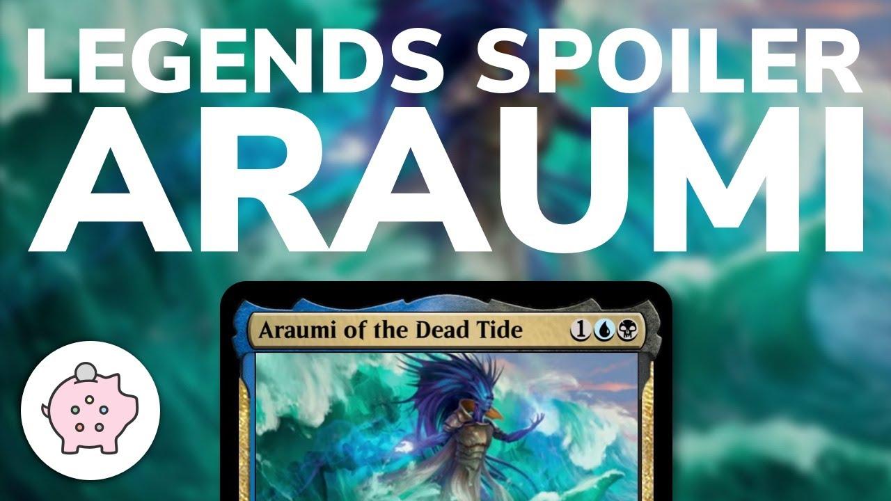 Commander Legends Uncommon MTG Araumi of the Dead Tide Mint x1 or x4