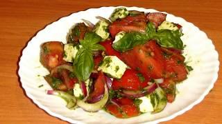 Фаворит этого сезона! Летний салат с базиликом